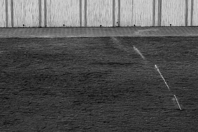 Photograph - Water Sprinkler Minimalism by Prakash Ghai