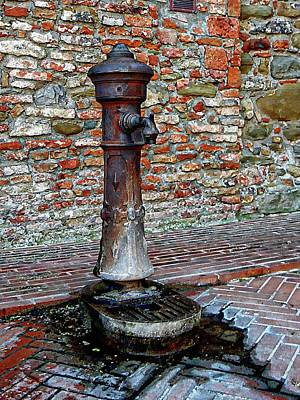 Photograph - Water Station Panicale by Dorothy Berry-Lound