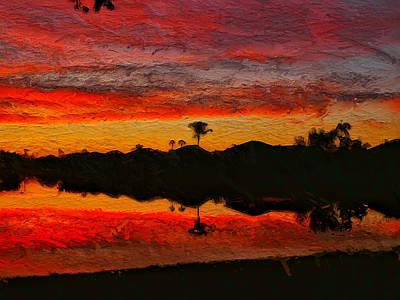 Photograph - Winter Sunrise I by Kathi Isserman
