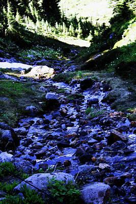 Photograph - Water Through The Rock by Edward Hawkins II