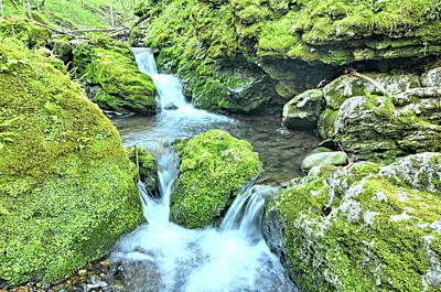 Photograph - Water Tiers by Bonfire Photography