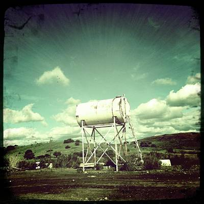 Photograph - Water Tower by Alexis Lee Scott