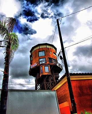 Eric Decker Photograph - Water Tower  by Eric Decker