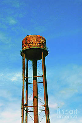 Photograph - Water Tower by Gary Wonning