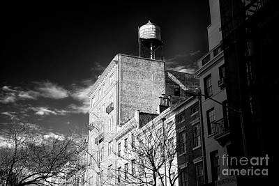 Photograph - Water Tower In Greenwich Village by John Rizzuto