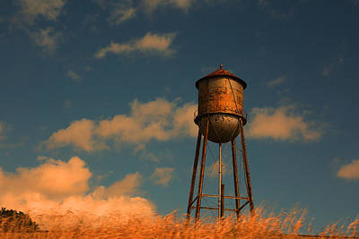 Photograph - Water Tower by Ronald Olivier