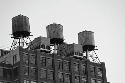 Water Towers Art Print