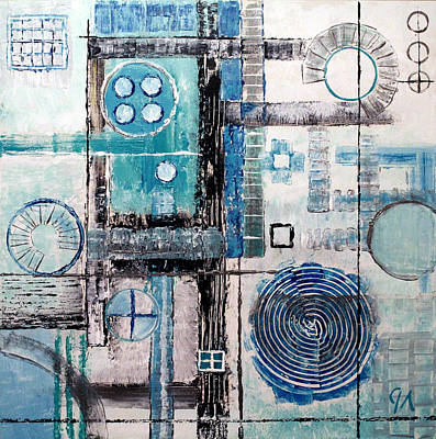 Painting - Water Treatment by Jeremy Aiyadurai