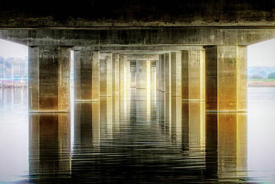 Photograph - Water Under The Bridge by John Freidenberg
