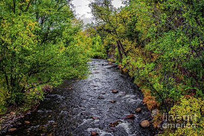 Water Under The Bridge Art Print by Jon Burch Photography