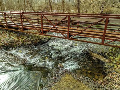 Water Under The Bridge Art Print