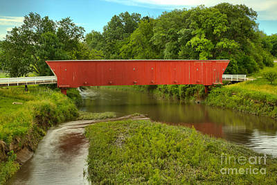 Photograph - Water Under The Hogback Bridge by Adam Jewell