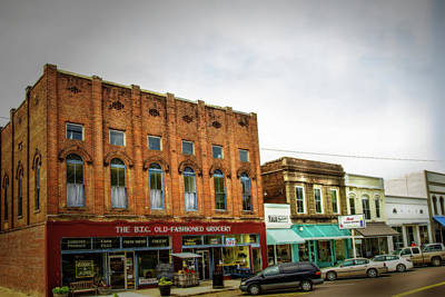 Photograph - Water Valley Business District by Barry Jones