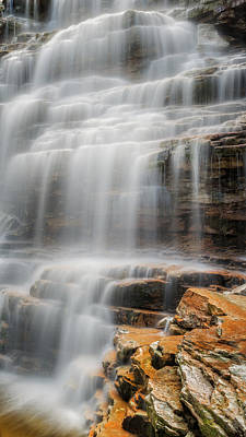 New Paltz Photograph - Water Veil by Bill Wakeley