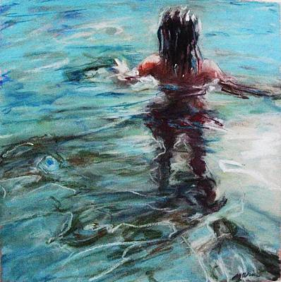 Painting - Water Walk by Michelle Winnie