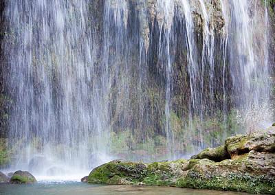 Photograph - Water Wall by Ramunas Bruzas