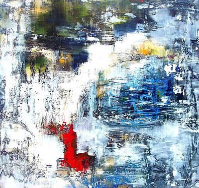 Water Water Everywhere Art Print by Jane Robinson