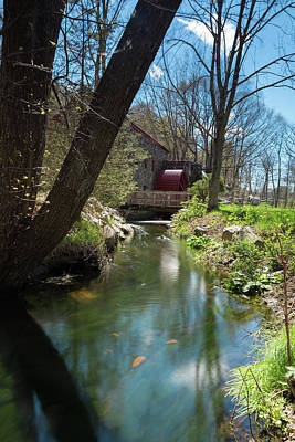 Photograph - Water Wheel by Brian Hale