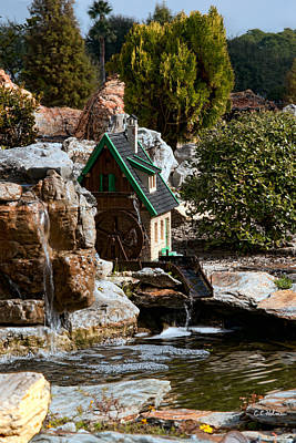 Photograph - Water Wheel by Christopher Holmes