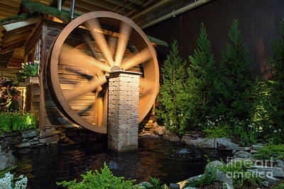 Photograph - Water Wheel by Kevin McCarthy