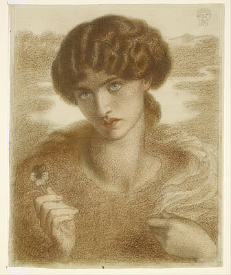 Painting - Water Willow by Dante Gabriel Rossetti