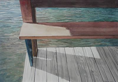 Water3 Art Print by Jeffrey Babine