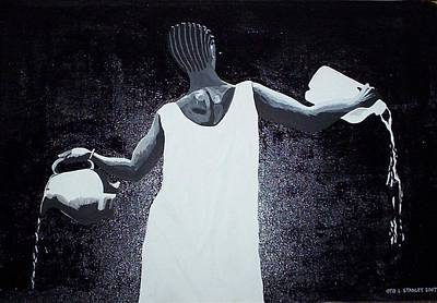 Painting - Waterbearer by Otis L Stanley