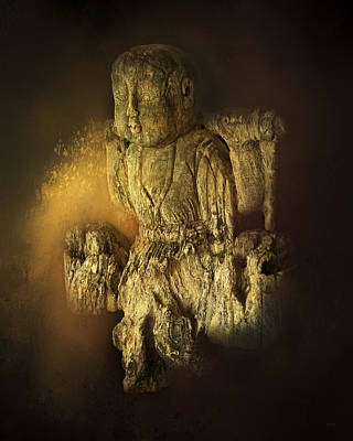 Photograph - Waterboy As The Buddha by Theresa Tahara