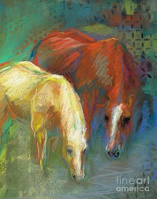 Waterbreak Art Print by Frances Marino