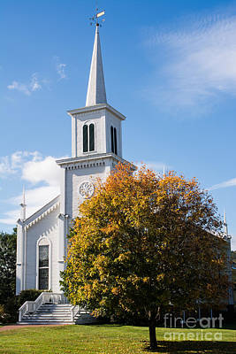 Waterbury Congregational Church, Ucc Art Print