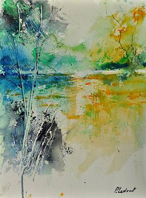 Olympic Sports - Watercolor 018080 by Pol Ledent