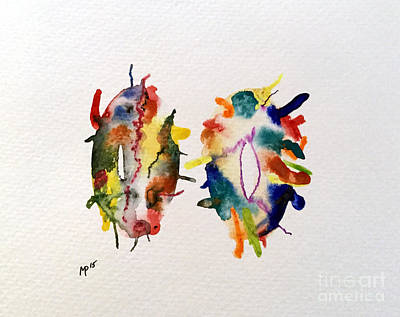 Mixed Media - Watercolor 10 by Mark Palmer