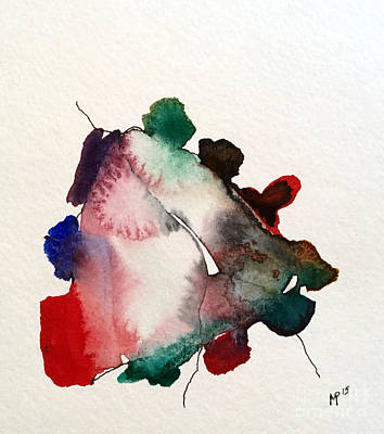 Mixed Media - Watercolor 11 by Mark Palmer