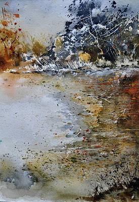 Christmas Christopher And Amanda Elwell Rights Managed Images - Watercolor 114051 Royalty-Free Image by Pol Ledent