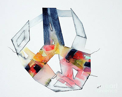 Mixed Media - Watercolor 13 by Mark Palmer