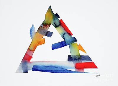 Mixed Media - Watercolor 14 by Mark Palmer