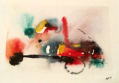 Mixed Media - Watercolor 17 by Mark Palmer