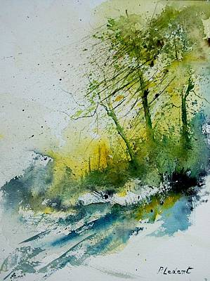 Movies Star Paintings - Watercolor 181207 by Pol Ledent