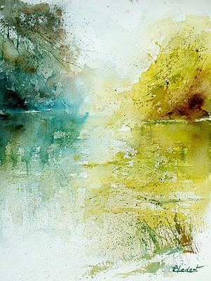 Watercolor 24465 Art Print by Pol Ledent
