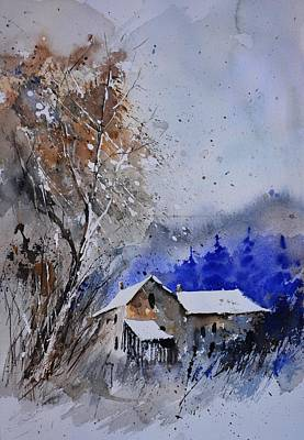 Whimsical Flowers - Watercolor 45512113 by Pol Ledent