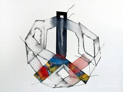 Mixed Media - Watercolor 6 by Mark Palmer