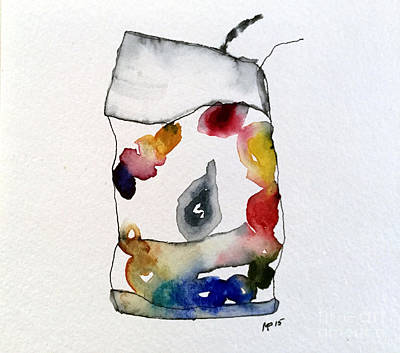 Mixed Media - Watercolor 9 by Mark Palmer