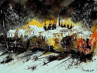Chris Walter Rock N Roll - Watercolor  909072 by Pol Ledent