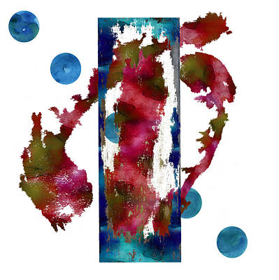 Painting - Watercolor Abstract 1 by Kandy Hurley