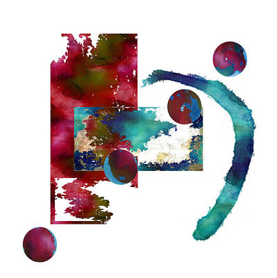 Painting - Watercolor Abstract 2 by Kandy Hurley