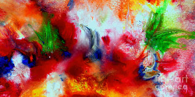 Painting - Watercolor Abstract Series G1015a by Mas Art Studio