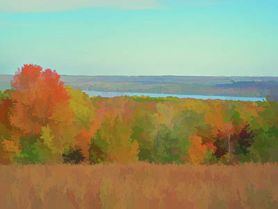 Photograph - Watercolor Autumn Glory by Aimee L Maher Photography and Art Visit ALMGallerydotcom