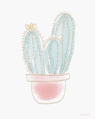 Painting - Watercolor Cactus- Art By Linda Woods by Linda Woods
