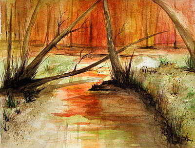 Painting - Watercolor Challenge by Julie Lueders