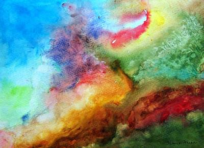 Painting - Watercolor Collage by Jamie Frier
